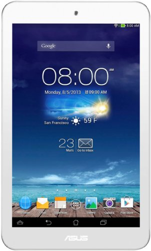 Asus MeMO Pad 8 20,3 cm (8 Zoll) Tablet-PC (Asus RK101, 1,6GHz, 1GB RAM, 16GB SSD, Android 4.2) weiß (Pad Memo Quad Asus Core)