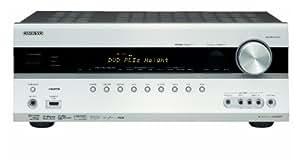 Onkyo TX SR 607 7.2 AV-Receiver (Dolby Pro Logic Iiz, 6x HDMI 1.3a IN, 1080i Upscaling, Dolby TrueHD, DTS HD) silber