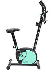 Bicicleta magnética GneticFit de Cecotec. Frenado magnético. Pulsómetro. pantalla LCD. Resistencia variable y Sillín confort