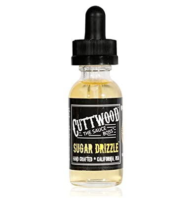 Cuttwood - Sugar Drizzle 30ml - Premium USA E-Liquid Vaping Liquid For Electronic Cigarette Shisha Pen - No Nicotine from Cuttwood