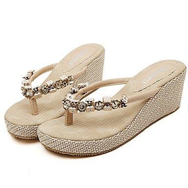 Donne'sscarpe tacco a cuneo Flip Flop Sandals Casual pi¨´ colori disponibili US6 / EU36 / UK4 / CN36