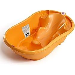Bañera para bebés Ok Baby onda naranja naranja