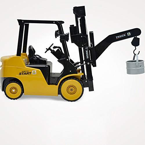 RC Auto kaufen Baufahrzeug Bild 5: Wokee 2,4 GHz RC Fernbedienung LKW Gabelstapler 1:14 Spielzeug Kinder,60 x 14,5 x 29 cm,Heavy Metal Modellbau Forklift*