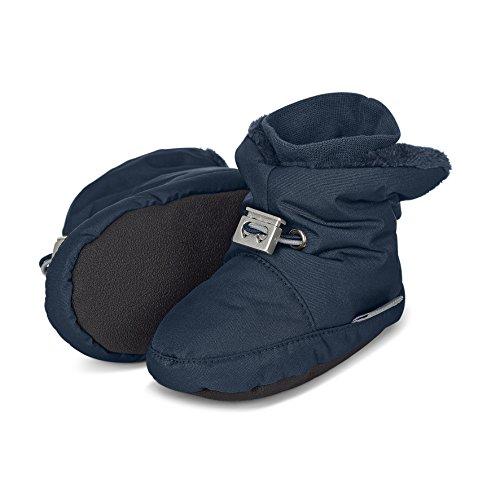 Sterntaler Jungen Baby-Schuh Krabbel- & Hausschuhe Blau (Marine 300), 19/20 EU