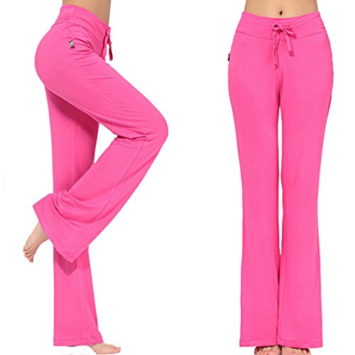 womens-long-modal-comfy-drawstring-trousers-loose-straight-leg-for-yoga-running-sporting-l-rose-red