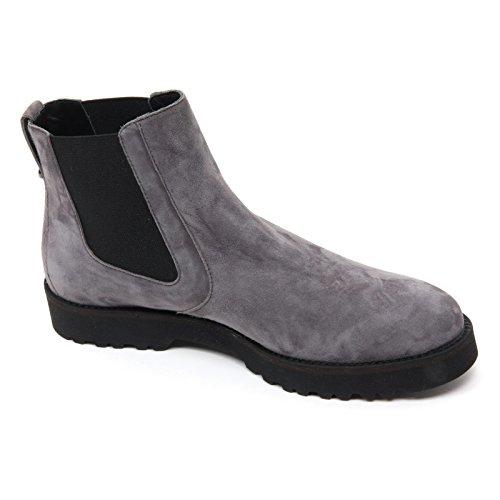 B7378 polacchino donna HOGAN H259 ROUTE scarpa grigio/azzurro shoe boot woman grigio/azzurro