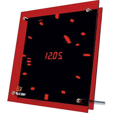 ELV-LED-Uhr KLU2001 mit Analog-/Digitalanzeige, Komplettbausatz