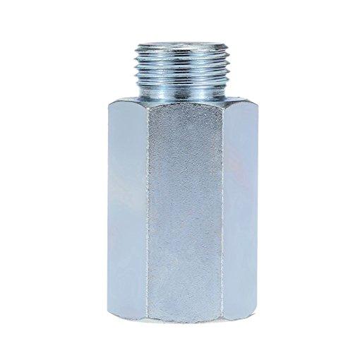TOOGOO M18x1.5 Edelstahl Spacer Converter/Automotive Sauerstoffsensor Verlaengerungsrohr