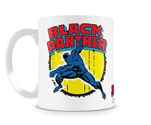 Hybris Marvel Comics Black Panther - Fun Keramik Tasse Kaffee Tee Becher -Perfekt Valentines/Ostern/Sommer/Weihnachten/Geburtstag/Jahrestag Geschenk