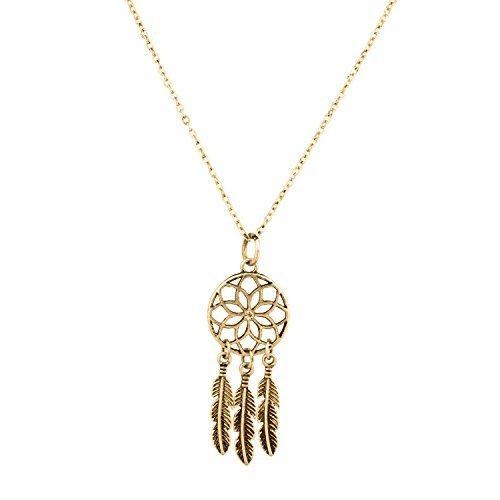 lux-accessories-tribal-dreamcatcher-leaf-owl-elephant-spear-arrow-interchangeable-pendant-necklace