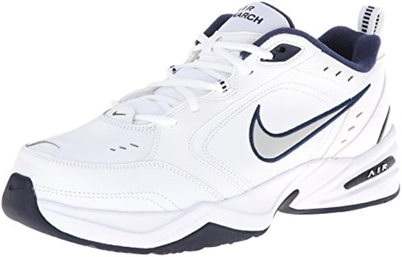 Nike Uomo Nike Nike Nike Air MONARCH IV (4E) RUNNING Scarpe -10.5; bianco   Metallic argentoo-Midnight Marina Militare | Il Più Economico  f8e9d6
