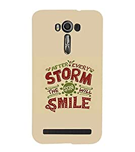 EPICCASE After every storm Mobile Back Case Cover For Asus Zenfone 2 Laser ZE550KL (Designer Case)