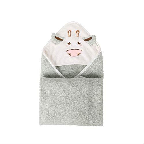 Baby badetücher kinder cartoon tier baby kapuzenbademantel badetücher baumwolleneugeborenenjungen deckeweichebaby handtücherals bild (Decken Kleinkind Mädchen Erhalten)