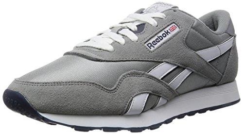 reebok-classic-nylon-men-training-running-grey-platinum-jet-blue-13-uk-485-eu