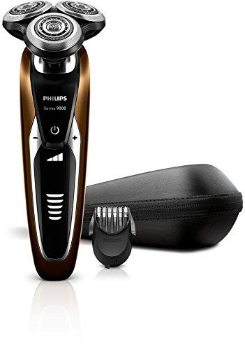 Philips S9511/42 Rasoir électrique Series 9000 avec tondeuse barbe et réglages de confort