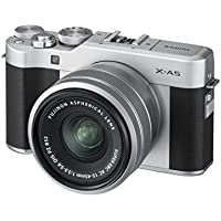 Fujifilm X-A5 Camera with XC 15-45 Lens - Silver