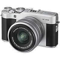 "'Fujifilm ""x de A5con xc15–45mm f3.5–5.6OIS PZ Cámara Plata"