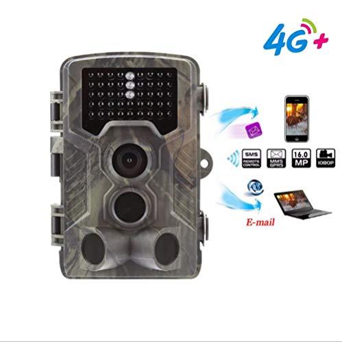 LQLQL Jagdspur Kamera FTP E-Mail 4G MMS 16MP 1080P SMTP SMS Wildkameras Mobilfunk HC330LTE Nachtsicht Wild Cam, USA
