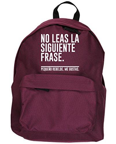 HippoWarehouse No Leas la Siguiente Frase. Pequeño Rebelde. Me Gustas kit mochila Dimensiones: 31 x 42 x 21 cm Capacidad: 18 litros