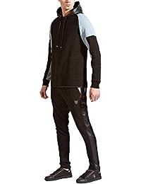 Fremont /& Harris Mens Cinder Joggers Or Raver Hoody Top Designer Comfy Tracksuit