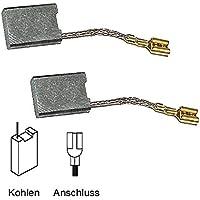 2x Kohlebürsten Motorkohlen 6,3x16x22mm für Bosch GWS 20-230 J GWS 230 J