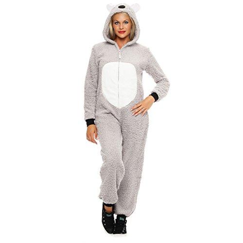 uit Einteiler Overall Tier Anzug Koala Gr. XL (Damen Kostüm Koala)