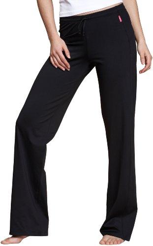 Venice Beach Damen Lange Hose Jazzy Pants, Schwarz, S, 12023-990 (Damen Weiche Trainingshose)