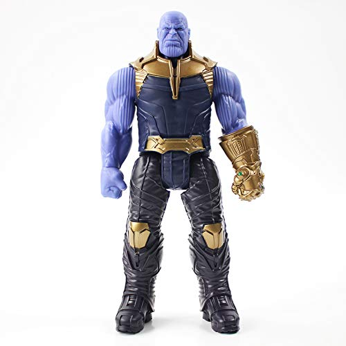 Titan Hero Thanos Series Marvel Avengers 3 Infinity War Figura de acción Juguete PVC muñeco Juguete Coleccionable para niños