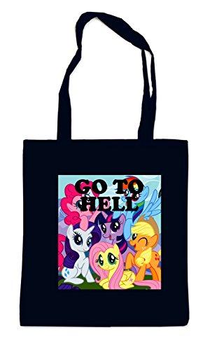 Go to Hell Pony Sac Noir
