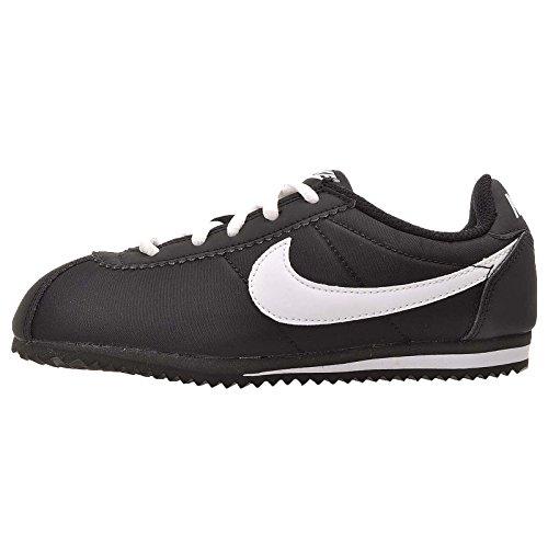Nike Cortez Nylon (Ps), Scarpe da Corsa Bambino Blanco (Black / White)