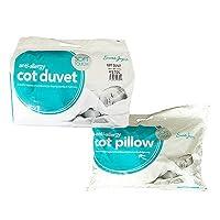 Sarah Jayne Anti-Allergy Duvet/Quilt & Pillow, 4.5 Tog Cot Bed