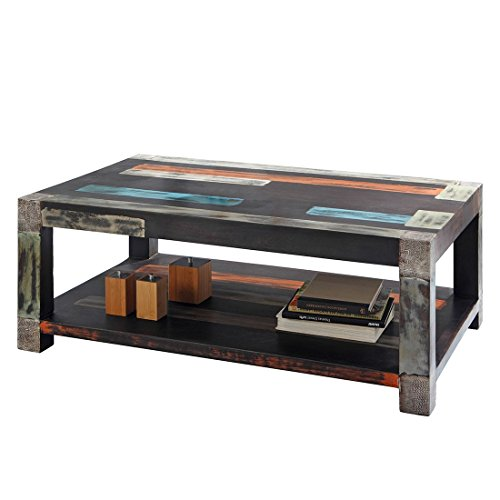 GOA 3512 Couchtisch, Holz, 80 x 120 x 45 cm, natur