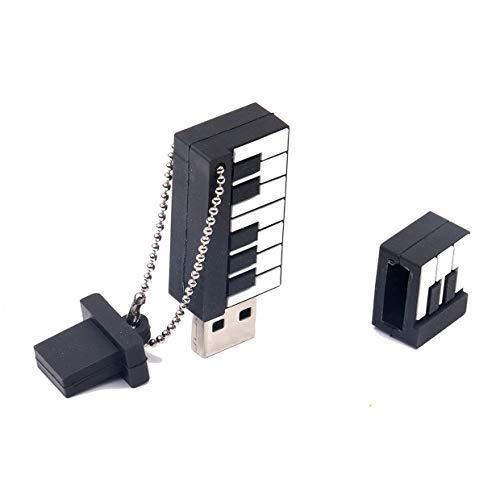 MXECO Funny Musical Paino Shape USB2.0 U Disk Pendrive USB de alta velocidad Memory Stick externo Pen Drive para portátiles