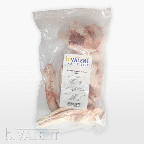 biVALENT-BarferLine-Kalbsbrustbeinknochen-Kalbsbrustbein-Knochen-1kg-Barf-Frostfleisch-Hundefutter
