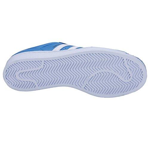 Adidas Superstar Schuhe ray blue-running white-runnning white – 45 1/3 - 3