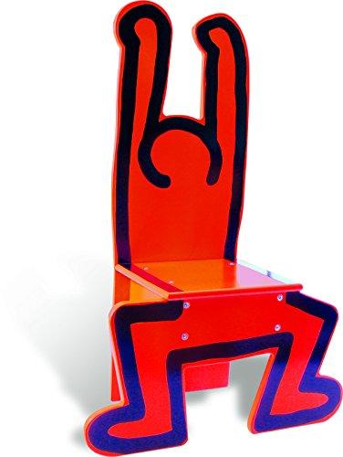 Vilac 9295 Keith Haring Stuhl, Rot -