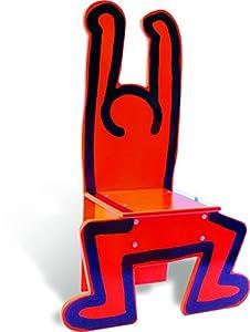 Vilac 48 x 23 x 72 cm Keith Haring Presidente (Rojo)