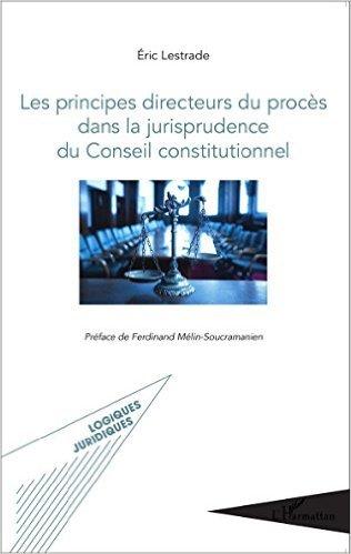 Les principes directeurs du procès dans la jurisprudence du Conseil constitutionnel de LESTRADE ERIC ( 30 avril 2015 )