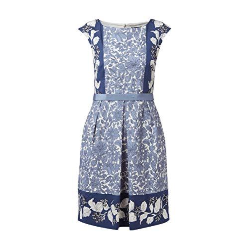 Weekend Max Mara Kleid mit floralem Muster Kleid Blau NEU