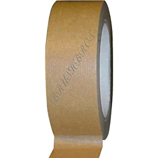 Brown BT50 Masking Tape For Picture Framing And Box Sealing 50mm Wide X 50m Long With Free Delivery. by Brushbros