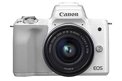 Canon EOS M50 - Kit de cámara EVIL de 24.1 MP y vídeo 4K...
