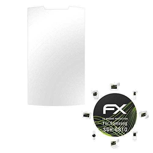 Samsung SGH-G810 Spiegelfolie - atFoliX FX-Mirror Displayschutz mit Spiegeleffekt