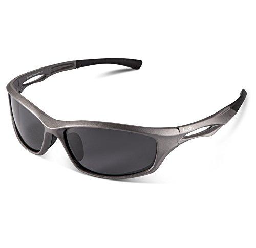 lunettes de soleil Polarized UV400 Sports Lunettes de soleil pour Outdoor Sports Driving Pêche Running Skiing Escalade Randonnée Convient pour les hommes et les femmes Vente bon marché (TJ-023) (D) BEIOPCgZ0