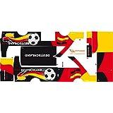 Stickers Adhesivos de Playmyplanet Fútbol Alemania Compatibles con Playmobil Bus 5106, 5025, 4419, 5603 Y 3169