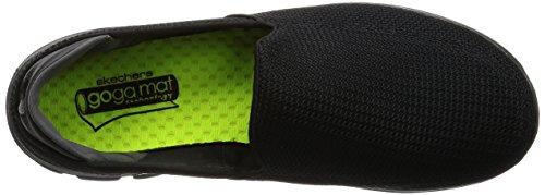 Skechers - Gowalk 3, Sneaker basse Uomo Nero