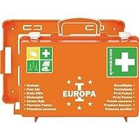 Söhngen 03001356 Erste-Hilfe-Koffer EUROPA I orange/Erste-Hilfe-Kasten mit Unterteilung und Wandbefestigung, gefüllt... preisvergleich bei billige-tabletten.eu