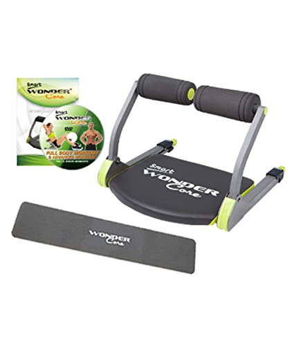 WonderCore Wonder Core Smart Total Body Exercise System Ab Toning Workout Fitness...