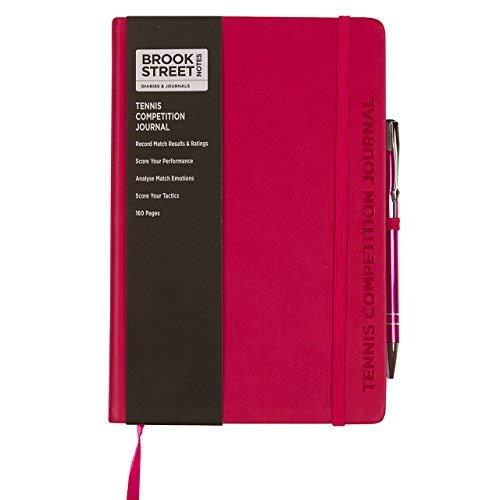 Tennis-Wettbewerb Notebook A5 A5 fuchsia pink -