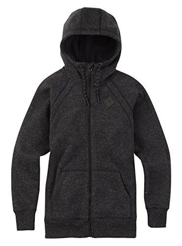 Burton Damen Bonded Scoop Hoodie True Black Sweater, L -