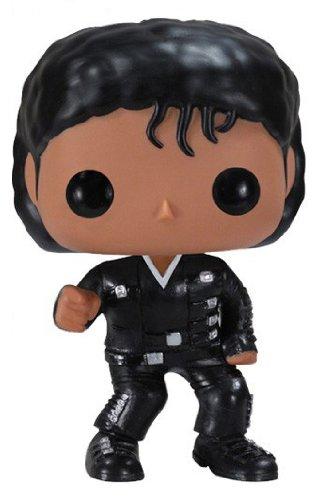 Funko - Figurine Michael Jackson Bad Pop 10 cm - 0830395025681